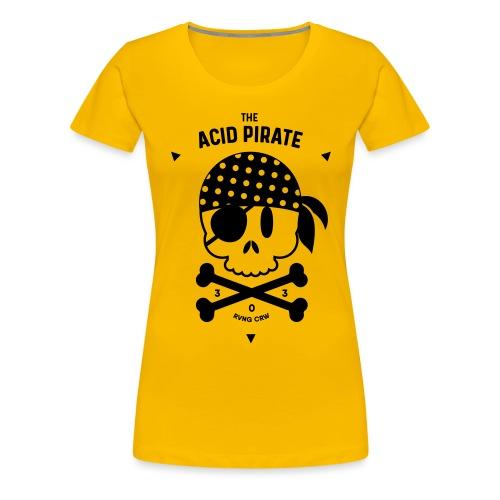 The Acid Pirate III - Women's Premium T-Shirt