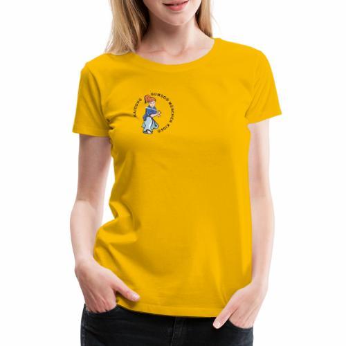 hdgkids typo bunt - Frauen Premium T-Shirt