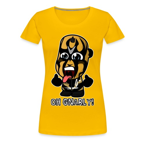 Chibi Goldust - Oh Gnarly - Women's Premium T-Shirt