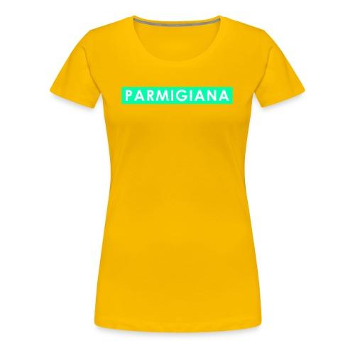 Parmigiana Style Green - Maglietta Premium da donna