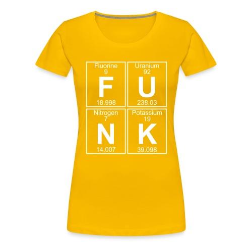F-U-N-K (funk) - Full - Women's Premium T-Shirt