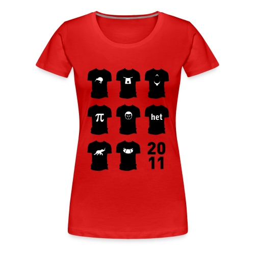 Shirt van 2011 - Vrouwen Premium T-shirt
