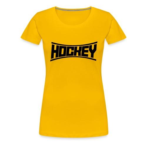 Hockey - Frauen Premium T-Shirt