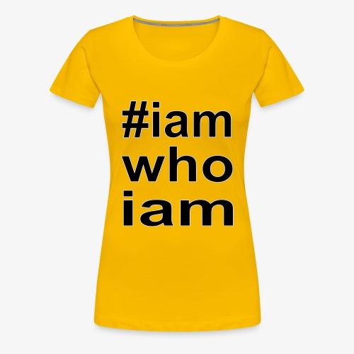 iamwhoiam - Frauen Premium T-Shirt