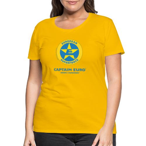 SÍMBOLO DEL SUPERFORCE EUROPEO (ESF) - Camiseta premium mujer