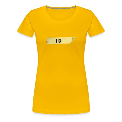 Tejp ID - Premium-T-shirt dam