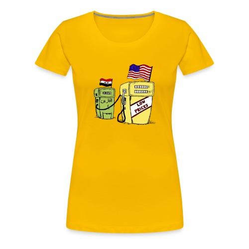 benzyna - Koszulka damska Premium
