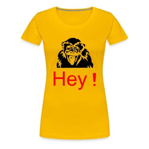 hey! monkey - T-shirt Premium Femme