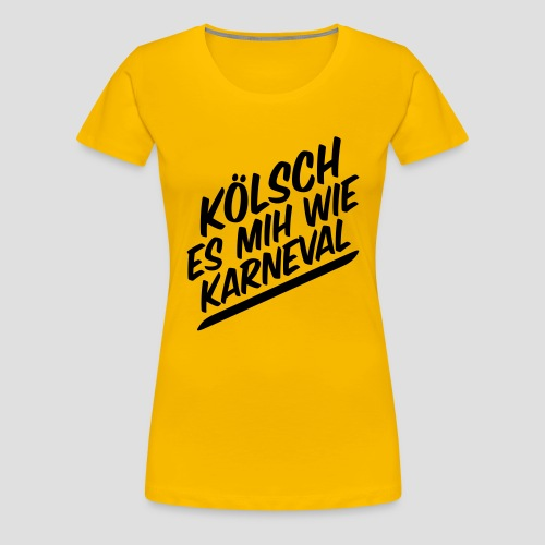 daeHoot Karneval - Frauen Premium T-Shirt