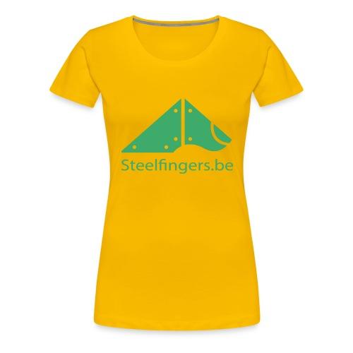 Steelfingers shirts - Vrouwen Premium T-shirt