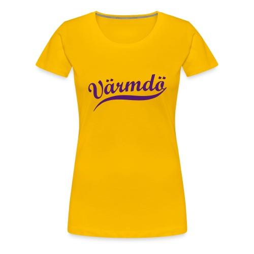 vaermdoe swing - Premium-T-shirt dam