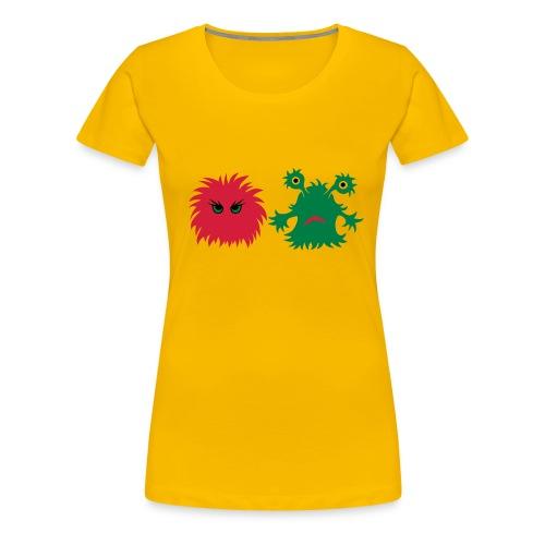 monster friends - Frauen Premium T-Shirt