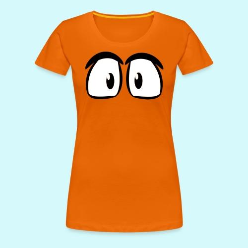 Comic Augen - Frauen Premium T-Shirt