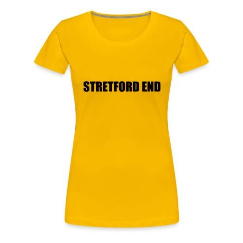 Stretford End - Women's Premium T-Shirt