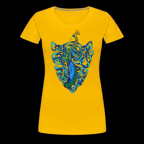 Peacock - Women's Premium T-Shirt