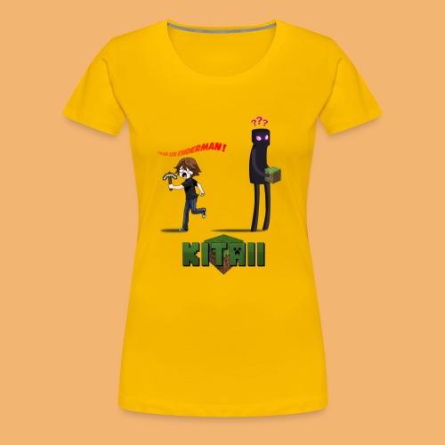 enderman png - T-shirt Premium Femme