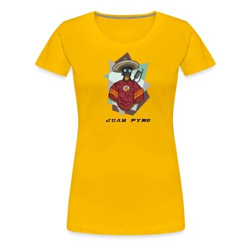Jaun Pyro 4000x4000 - Women's Premium T-Shirt