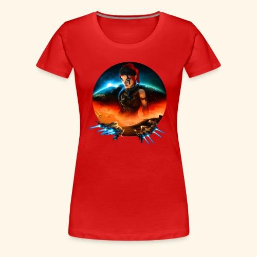 Pirate Galaxy Poster - Women's Premium T-Shirt