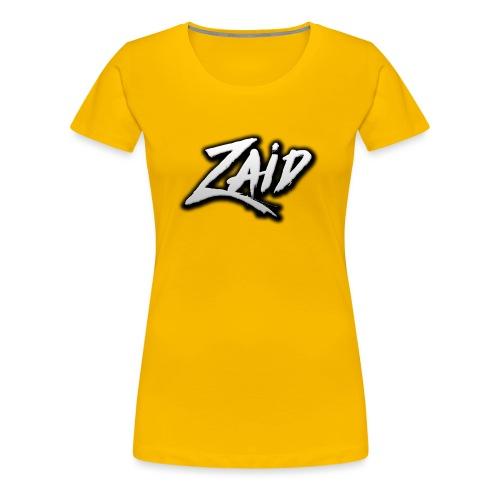 Zaid's logo - Women's Premium T-Shirt