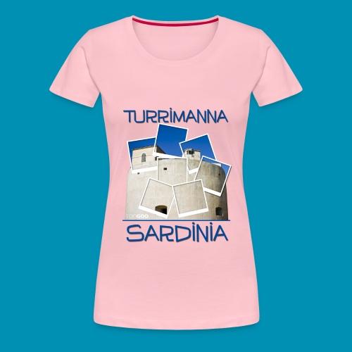 Torregrande polaroid 2015 png - Maglietta Premium da donna