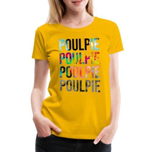 Poulpie Discography - Women's Premium T-Shirt