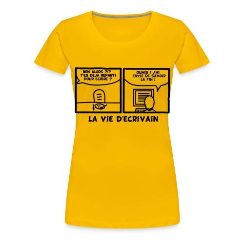 BD_ECRIVAIN - T-shirt Premium Femme