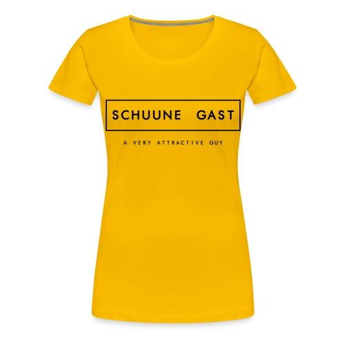 GAST - Vrouwen Premium T-shirt