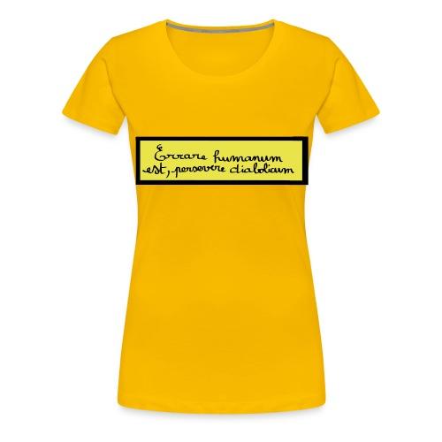 disign - T-shirt Premium Femme