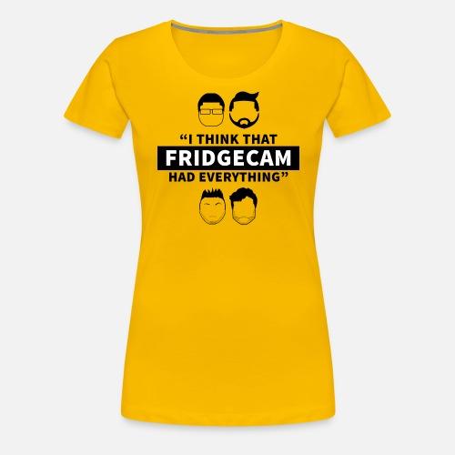 FridgeCam - Women's Premium T-Shirt