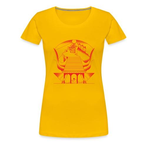 Monkey - Frauen Premium T-Shirt