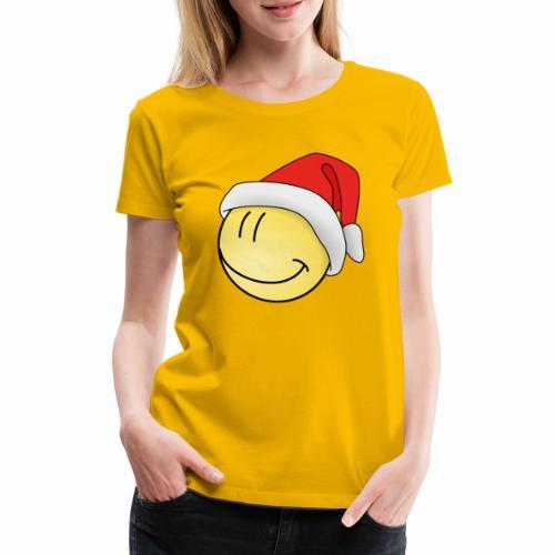 santa-smilie - Frauen Premium T-Shirt