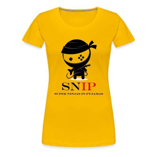 SNIP Tasse - Farbe - Frauen Premium T-Shirt