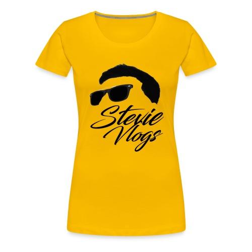 Stevie Vlogs Logo - Women's Premium T-Shirt