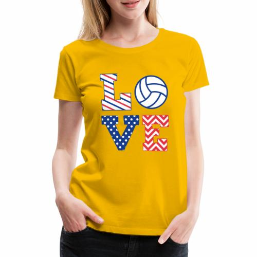 Volleyball - Frauen Premium T-Shirt