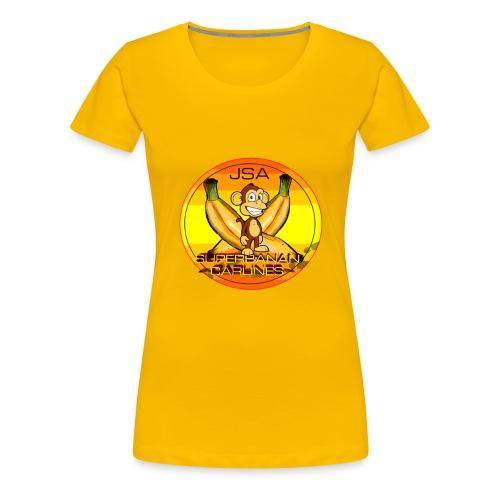 SUPERBANAN CARLINES: JSA - Premium T-skjorte for kvinner