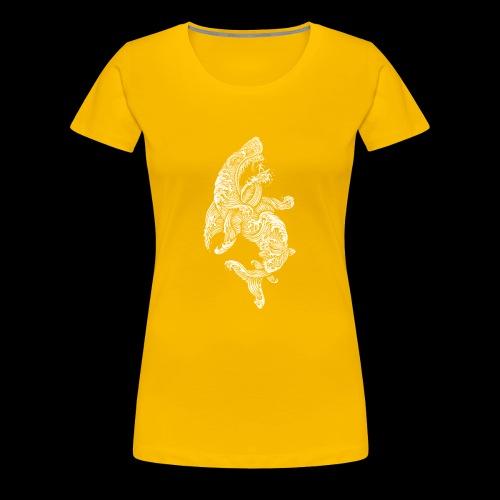 Shark Surfer - Frauen Premium T-Shirt