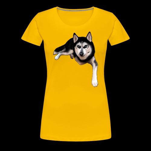 Husky - Women's Premium T-Shirt
