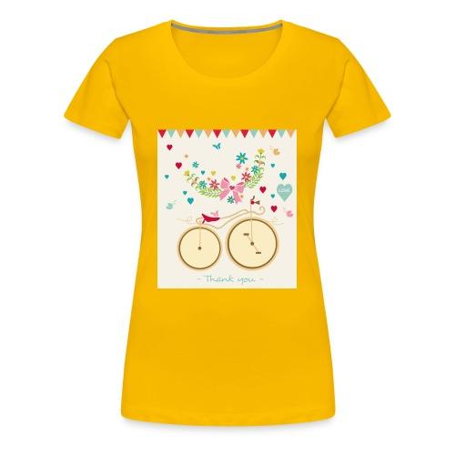 Thank You - Women's Premium T-Shirt