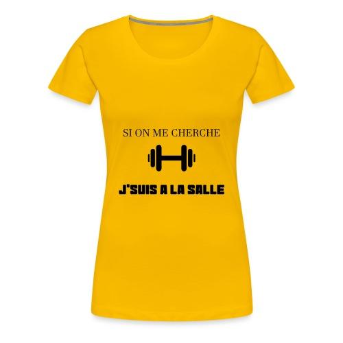 J SUIS A LA SALLE - T-shirt Premium Femme
