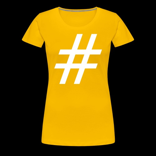 Hashtag Team - Frauen Premium T-Shirt