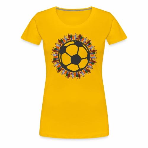 One world one sport - Frauen Premium T-Shirt
