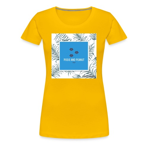palm pooch design - Women's Premium T-Shirt