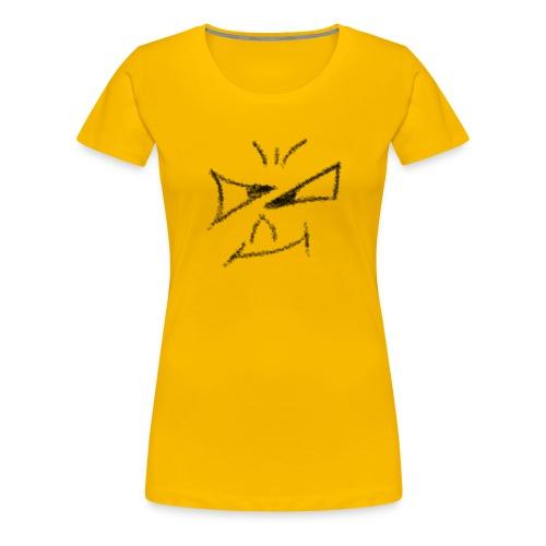 Böses Smile - Frauen Premium T-Shirt