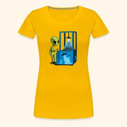 Naolito abduction II - Frauen Premium T-Shirt