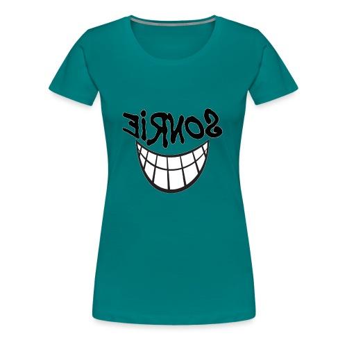 Para el Espejo:Sonrie 01 - Camiseta premium mujer