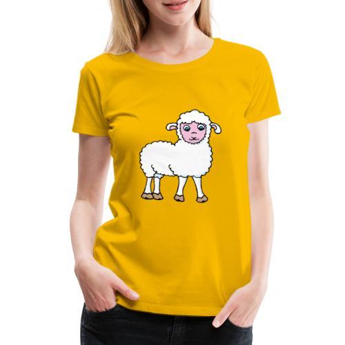 Minos le petit agneau - T-shirt Premium Femme
