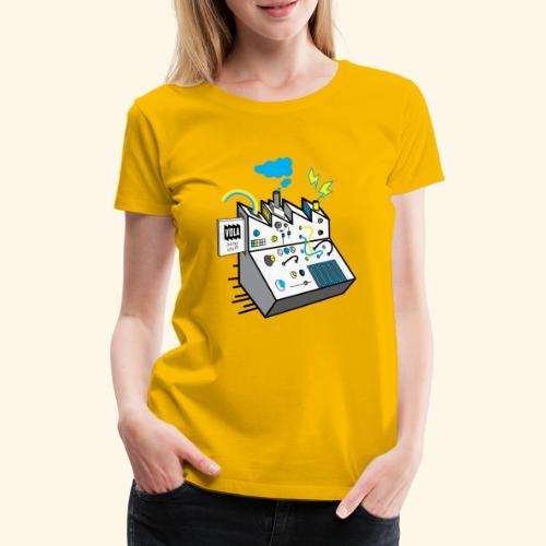 Noisy Factory - Naisten premium t-paita