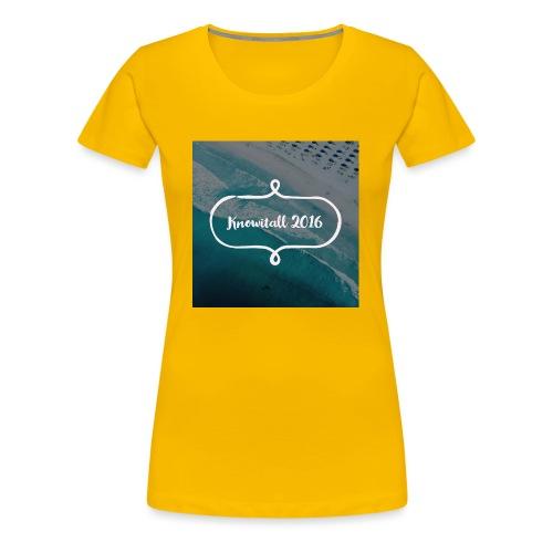 Knowitall 2016 - Women's Premium T-Shirt
