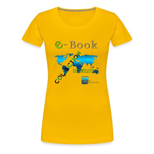 E-Book Collection - Camiseta premium mujer
