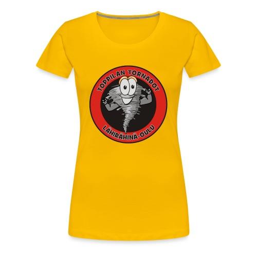 Toppilan Tornadot - Naisten premium t-paita